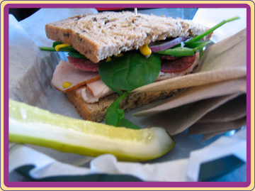 Picture of our Sandwich on menu